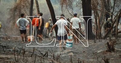 La Nación / Si se reactiva incendio en el Botánico, volverán a cerrar parques Ñu Guasu y Metropolitano