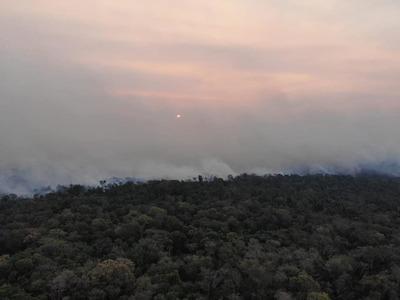 En las últimas 24 horas, Paraguay reportó 13843 focos de calor