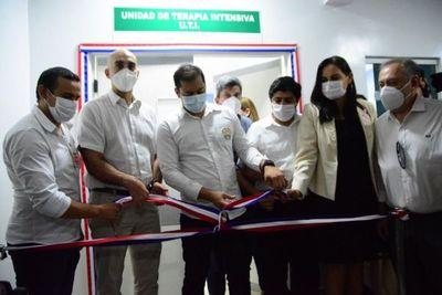 Habilitan oficialmente segunda sala de UTI reformada con aportes de Municipalidad de CDE