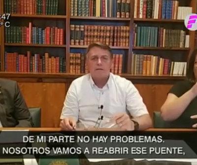 Abdo y Bolsonaro se reunirán este viernes por la reapertura de frontera