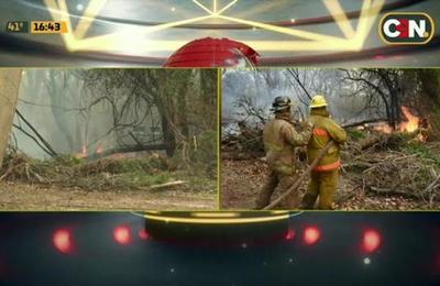 Paraguay en llamas: Incendio en Atyrá