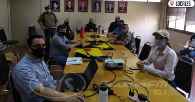Gobierno Departamental brinda apoyo a Bomberos Voluntarios