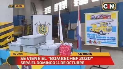 Bomberos Voluntarios organizan Bombetón y Bombechef