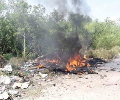 En Paraguay casi el 40% de los hogares queman su basura