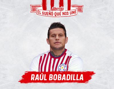 Con Raúl Bobadilla se completa la Albirroja