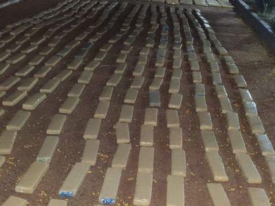 Incautaron alrededor de 1.400 kilos de marihuana en Pedro Juan Caballero