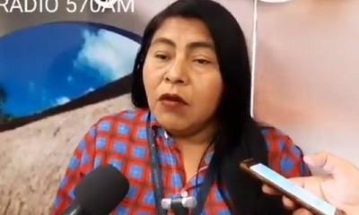 Líder indígena denuncia trabajos forzosos y violación de niñas