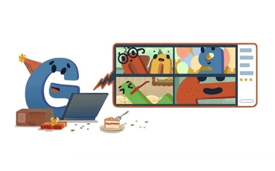 Google celebra su aniversario 22