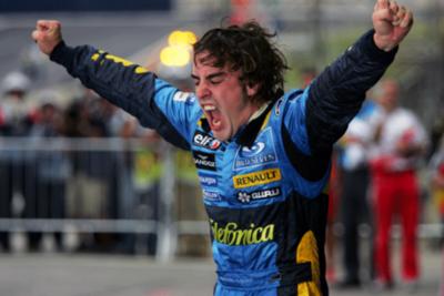 En el 2005, Alonso establecía una doble marca en la F1