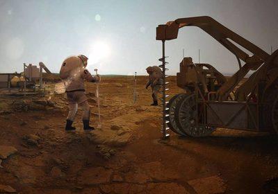 Vida en otro planeta: científicos aseguran que posiblemente hay vida en el interior de Marte.
