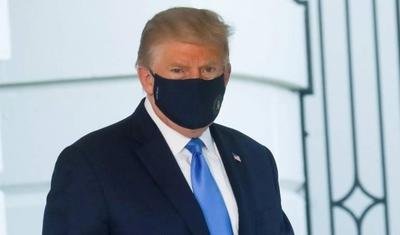 """HOY / Trump : """"Estoy muy bien y vamos a asegurarnos de que todo funciona"""""""