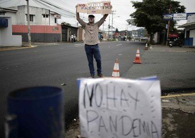 Costa Rica cumple tres días de protestas contra eventual acuerdo con el FMI