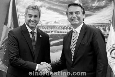 Marito y Bolsonaro acordaron abrir la frontera entre Paraguay y Brasil gradualmente antes del 15 de Octubre