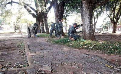 Exigen retirada de militares en Pedro Juan