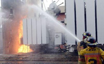 Incendios arriesgan también subestaciones