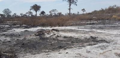 Imputan a tres personas por realizar quemas en el Chaco
