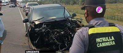 Bacchetta: Los cuatro fallecidos se movilizaban en otro vehículo, asegura Policía