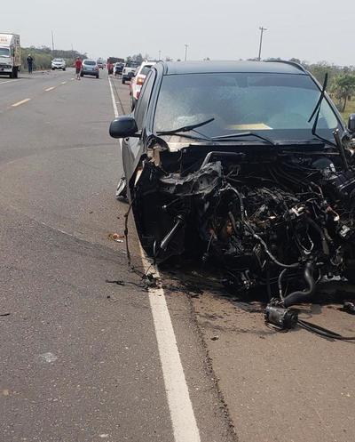 Grave accidente involucra al senador Enrique Bacchetta y reportan cuatro fallecidos