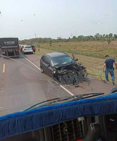 Bacchetta herido pero fuera de peligro tras accidente de tránsito