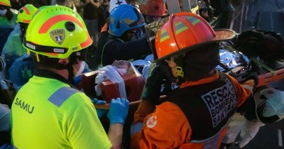 La Nación / Policía chileno detenido por caída de menor en protesta