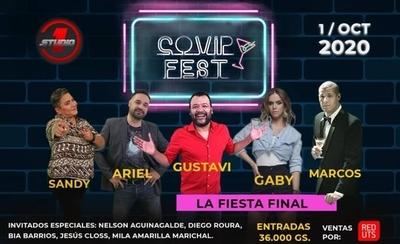 """HOY / """"Covip Fest"""": El lado humorístico de la cuarentena, en Red UTS"""