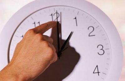 A medianoche el reloj se adelanta 60 minutos para el horario de verano