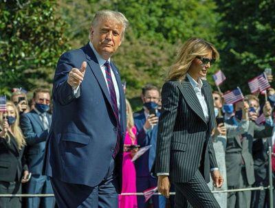 "Presidente Trump sigue  hospitalizado por ""precaución"""