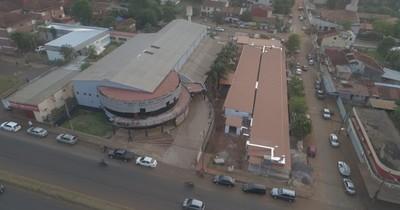 La Nación / Pabellones de contingencia de Ciudad del Este están muy avanzados