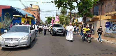 Misa folclórica y karu guasu hoy en Luque