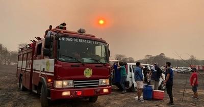 La Nación / Bomberos rescatistas de Capiatá piden ser beneficiados con aporte del Estado