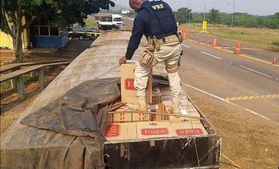 Brasil incautó 60 mil cajas de cigarrillos de contrabando, propiedad de HC