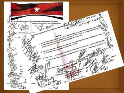 Presidentes de seccionales del país instan a convencionales a participar de la convención colorada