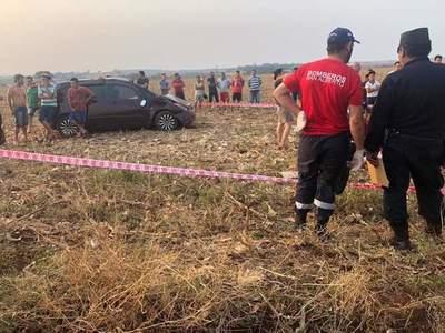 Karai y su hija mueren tras volcar el automóvil en el que circulaban