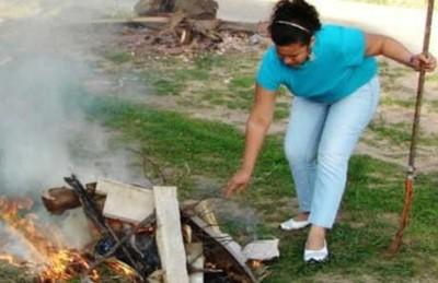El 60% de hogares del interior quema su basura