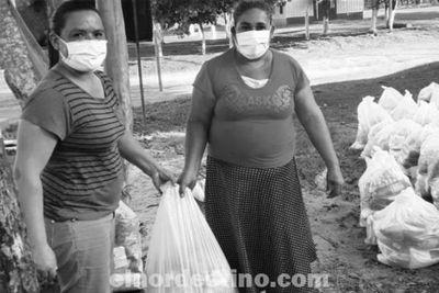 Desde el lunes 5 la Municipalidad de Pedro Juan Caballero inició la entrega de kits de alimentos en instituciones de enseñanza