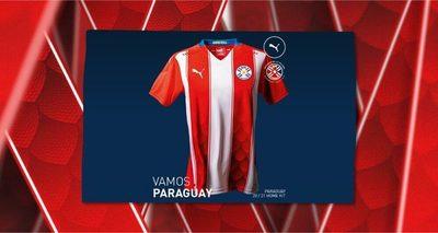 Puma presenta la nueva camiseta de la albirroja