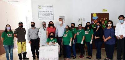 Municipalidad inició la entrega de kits de la merienda en instituciones escolares
