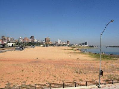 Actual bajante del río Paraguay ingresa al podio de registros históricos