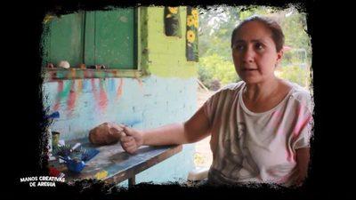 Manos creativas de Areguá: Gloria Cáceres