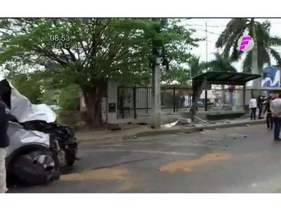 Falleció atropellada mientras esperaba bus para ir a trabajo