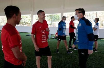 La Selección Paraguaya de Fútbol realizó su primer entrenamiento