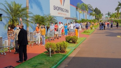 Las puertas se abrieron oficialmente en Shopping China de Pedro Juan Caballero