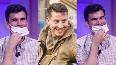 """HOY / Sebastián a """"punto de ebullición"""" en Tv tras dar 'me gusta' a bombero sexy"""
