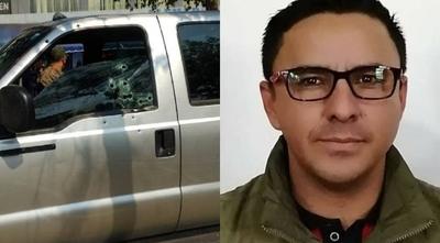 HOY / Nuevo caso de sicariato en PJC: víctima fue acribillada mientras manejaba su camioneta