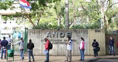 La Nación / Ande recibió el 50% del valor de las facturas exoneradas