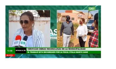 Fiscalía verifica obras inconclusas de la Municipalidad de Concepción