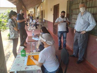 Almuerzo y merienda para los alumnos de la escuela Coronel José María Argaña