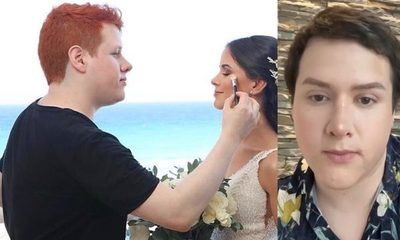 Maquillador paraguayo, popular en redes, conquista al diario Clarín