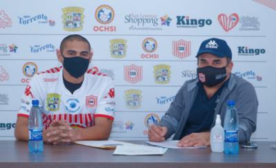 HOY / Teodoro Paredes se incorpora a San Lorenzo