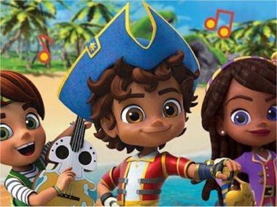 Nickelodeon estrena Santiago of the Seas, una nueva serie bilingüe